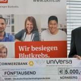 Blutkrebs: uniVersa unterstützt DKMS
