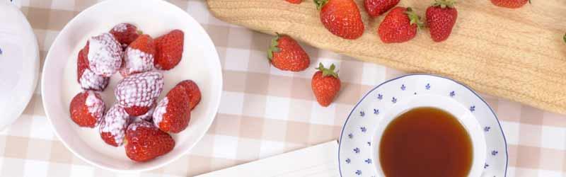 erdbeeren-tee
