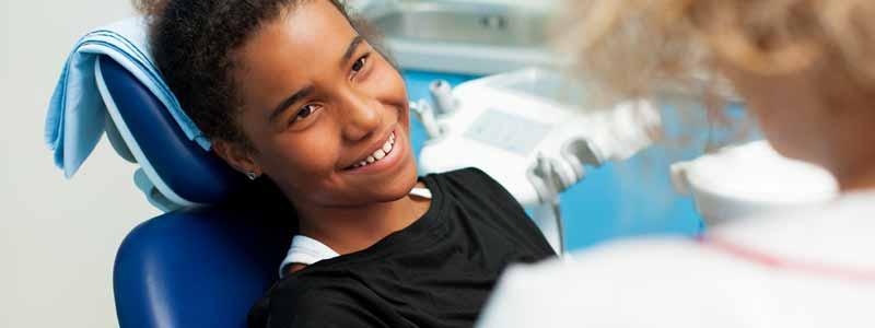 Kinder Kreidezähne